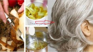 Goodbye White Hair! Leave This on Your Hair For Only 5 Minutes and Say Goodbye to White Hair Forever!